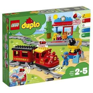 Конструктор LEGO DUPLO 10874 Поезд на паровой тяге (Стоимость с монетками 1487 руб.)