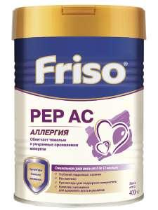 Friso Смесь сухая специальная PEP AC (Фрисо ПЕП АС), с 0 до 12 мес., 400 г