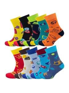 NosMag Набор из 10 пар мужских носков VIRTUOSO (размеры от 38 до 46)