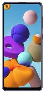 Смартфон Samsung Galaxy A21s 3/32GB синий (SM-A217FZBNSER)