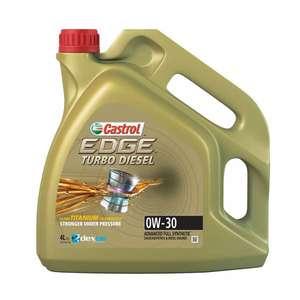 Моторное масло Castrol Edge Turbo Diesel 0w-30 Синтетическое, 4 Л
