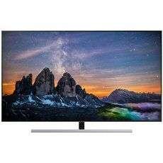 Телевизор QLED SAMSUNG QE55Q80RAU 4К, 120 гц