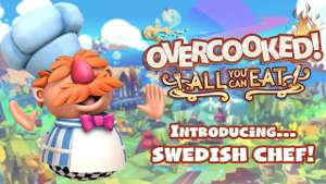 [PS5, Xbox, DLC] Overcooked! All You Can Eat - Swedish Chef (бесплатно)