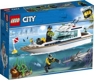 LEGO City Great Vehicles 60221 Яхта для дайвинга