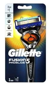 Бритва для бритья Gillette Fusion5 ProGlide + 2 сменные кассеты Джилет с технологией FlexBall