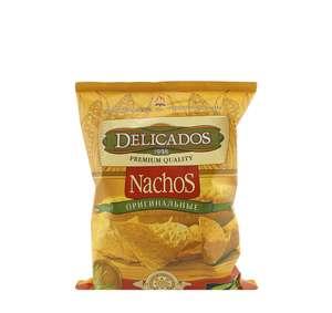 Чипсы Delicados Nachos кукурузные оригинальные, 150г