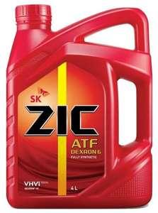 Трансмиссионное масло ZIC ATF Dexron VI 4 л