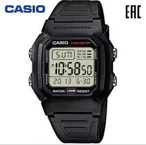 Мужские наручные часы Casio W-800H-1A электронные