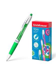 Ручка шариковая автоматическая Fiore ErichKrause синяя, 12 шт. (при покупке 3 комплектов)