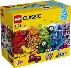 LEGO Classic 10715 Модели на колёсах (Количество элементов, шт 442)