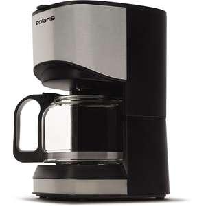 Кофеварка Polaris PCM 0613A капельная, нержавеющая сталь резервуар для готового кофе 0.5 л,