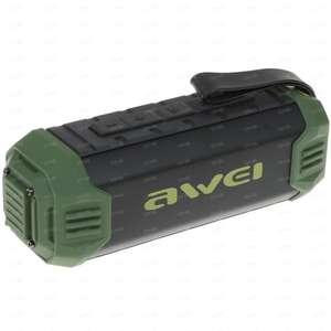 Портативная колонка AWEI Y280 зеленая/красная