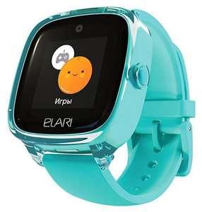 [МСК] Детские часы Elari KidPhone Fresh 4 с GPS, GSM и Wi-Fi (3 цвета)