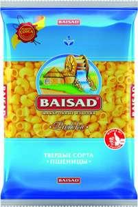 Макаронные изделия Baisad твёрдые сорта дурум: пружинки; рожки; спагетти 450 г