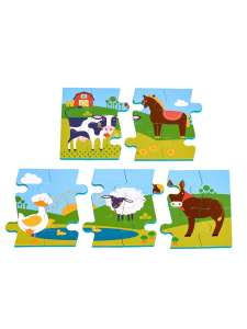 Пазл ферма LUCY&LEO для малышей