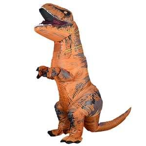 Надувной костюм Тираннозавра