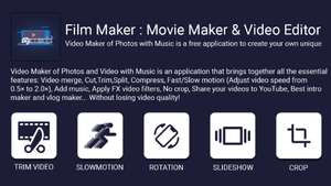 FilmMaker : Movie Maker & Video Editor - Бесплатно