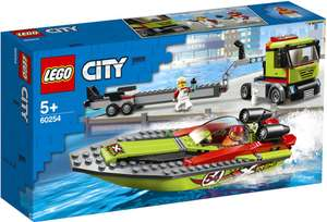 Конструктор LEGO City Great Vehicles Транспортировщик скоростных катеров Арт. 60254, Чехия