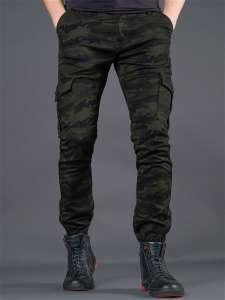 Dervirga`s джоггеры зимние утепленные / брюки зауженные с карманами