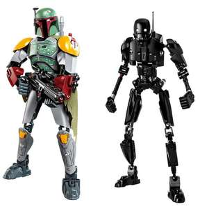 Блочные конструкторы с персонажами из Star Wars за 3.9$