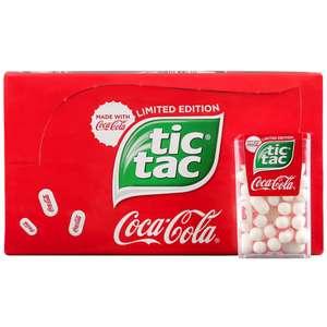 [Мск] TicTac со вкусом Coca-Cola 24 шт*16 г. (1шт-11₽)