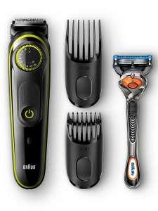 Электрический триммер для бороды BT3041 + Бритва Gillette