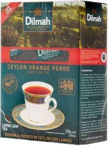 Чай Dilmah Цейлонский Крупнолистовой Черный, 250 г