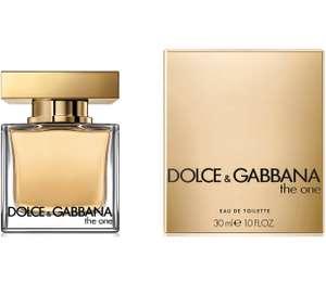 Женская туалетная вода Dolce&Gabbana The One, 30 мл. (и другие скидки по промокоду)