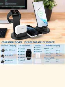 Многофункциональная док-станция для телефонов/Micro USB/Type-C interfaces