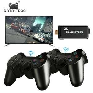 Игровая консоль DATA FROG 4K HD PS1/ATARI/MAME/SFC/FC/GBA/GB/GBC/MD