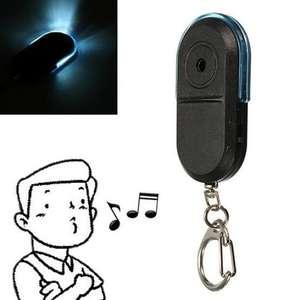Брелок для ключей со звуковой реакцией на свист. Для предотвращения утери ключей