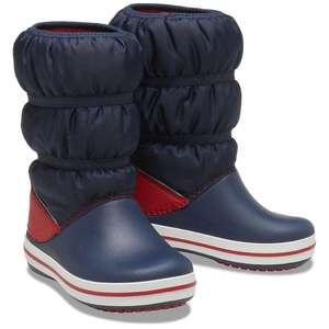 Сноубутсы Crocs Crocband Winter Boot K (размеры 23,25,26,27)