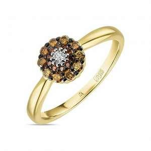 Кольцо c бриллиантами R01-35242-C22-2 Московского ювелирного завода