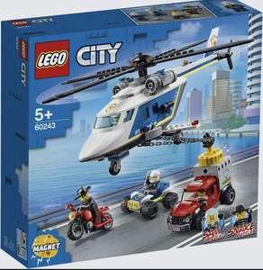 Конструктор LEGO City Police 60243 Погоня на полицейском вертолёте