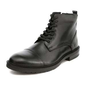 Ботинки кожаные мужские TERVOLINA (размеры 40-44)