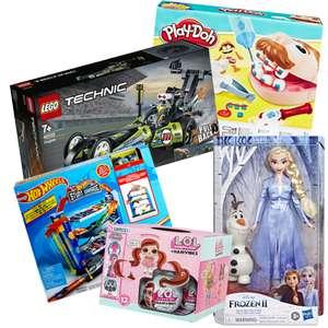 Скидка на игрушки 50% в Ленте (17.12)