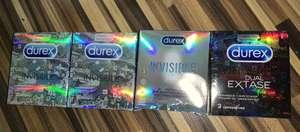 Презервативы Durex Invisible, Dual Extase (3 шт. )