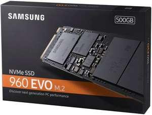SSD Nvme Samsung 960 EVO 500Gb