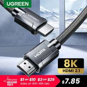Кабель Ugreen HDMI 2.1 (Ultra High Speed)