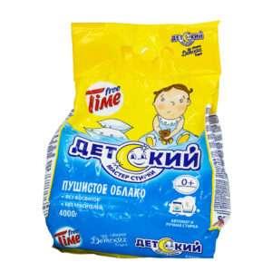 Стиральный порошок для всех типов стирки Free Time «Детский» Нэфис Косметикс 4 кг