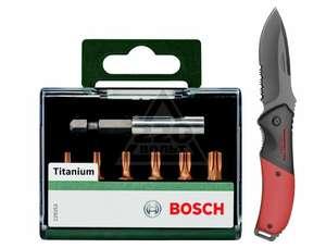Набор BOSCH Набор бит T 2609255983 + Нож