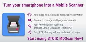 [Android] Mobile Doc Scanner (MDScan) + OCR