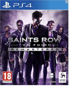 [PS4] Saints Row: The Third – Remastered. Стандартное издание