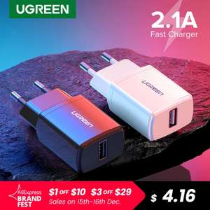 Сетевое зарядное USB-устройство Ugreen