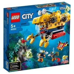Конструктор LEGO City Oceans 60264 (734 руб. с монетами и промокодом)