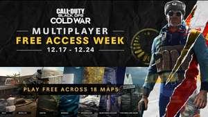 [Все платформы] Бесплатная неделя игры онлайн Call of Duty: Black Ops Cold War