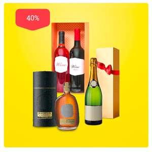 -40% на весь алкоголь в подарочной упаковке