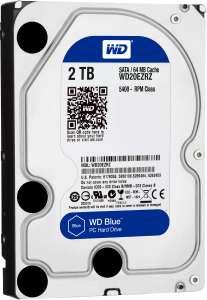 2 ТБ Внутренний жесткий диск WD Blue (WD20EZRZ)