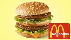 Макфест: Биг Мак бесплатно к заказу за регистрацию в мобильном приложении в Макдоналдс