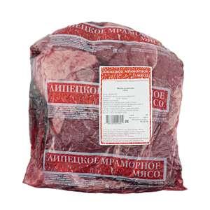 Лопатка говяжья без кости Липецкое мраморное мясо 1.4кг